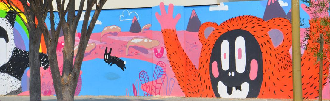 school muralist