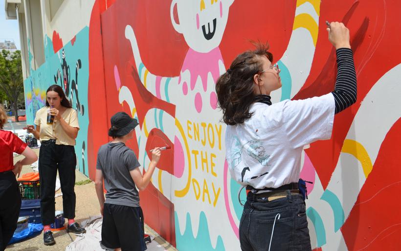 school mural artists