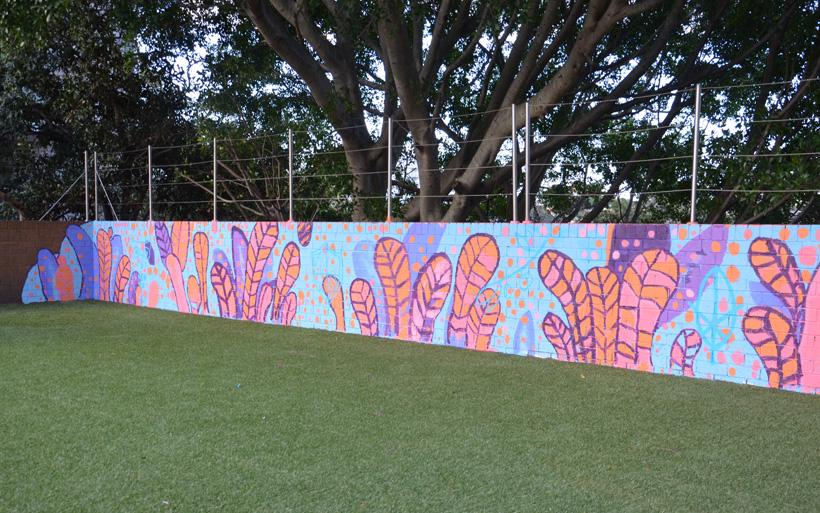 school mural workshop